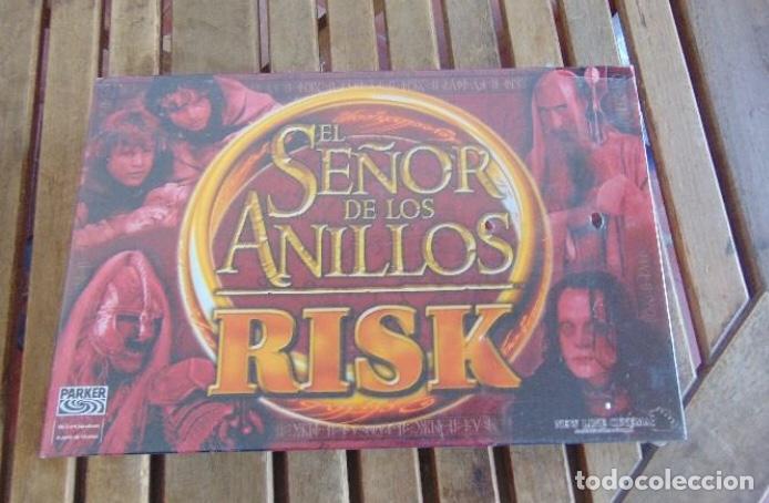 JUEGO DE MESA RISK EL SEÑOR DE LOS ANILLOS - PARKER - PRECINTADO SIN ABRIR - FALOMIR NAC CEFA KENNER (Juguetes - Juegos - Juegos de Mesa)