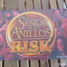 Juegos de mesa: JUEGO DE MESA RISK EL SEÑOR DE LOS ANILLOS - PARKER - PRECINTADO SIN ABRIR - FALOMIR NAC CEFA KENNER. Lote 205034035