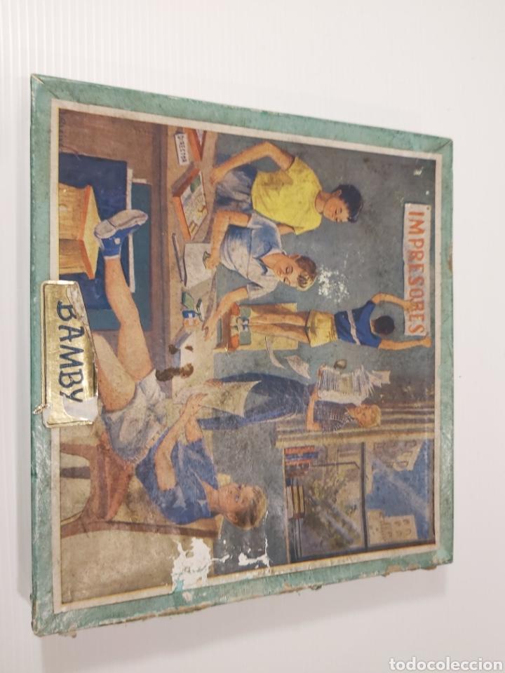 Juegos de mesa: ANTIGUO JUEGO DE IMPRENTA BAMBY - Foto 2 - 205096152