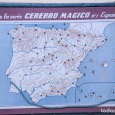 Juegos de mesa: MAGNIFICO JUEGO EL CEREBRO MAGICO Nº 1, C.1949. Lote 205097030