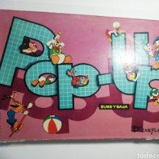 Juegos de mesa: JUEGO POP-UP, SUBE Y BAJA, WALT DISNEY. Lote 205116796