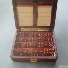 Juegos de mesa: JUEGO DE DOMINÓ DE VIAJE.. Lote 205130085