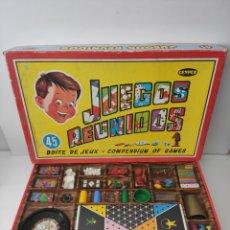 Juegos de mesa: GRAN JUEGOS REUNIDOS GEYPER. Lote 205370672