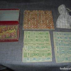 Juegos de mesa: ANTIGUO JUEGO LOTERIA. Lote 205573558