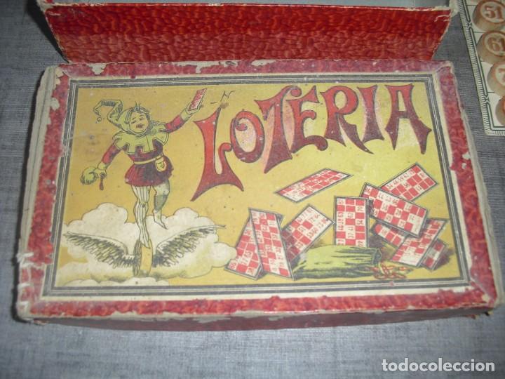 Juegos de mesa: antiguo juego loteria - Foto 2 - 205573558
