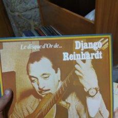 Juegos de mesa: LP DJANGO REINHARDT LE DISQUE D'OR DE VG++/EX. Lote 205596198