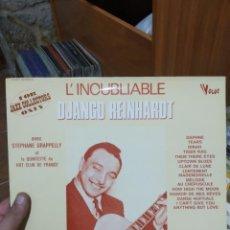 Juegos de mesa: LP L' INOUBLIABLE DJANGO REINHARDT VG+(/EX. Lote 205596263