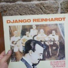 Juegos de mesa: LP DJANGO REUNHARDT LE QUINTETTE DU HOT CLUB DE FRANCE STEPHANE GRAPELLY VG++/EX. Lote 205596492