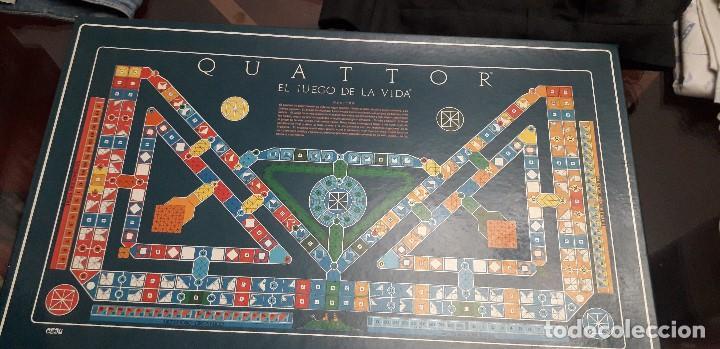 05-00077 -JUEGO DE MESA QUATTOR (Juguetes - Juegos - Juegos de Mesa)