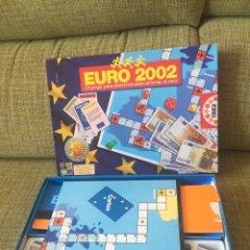 Juegos de mesa: JUEGO EURO 2002 DE EDUCA. Lote 205813048