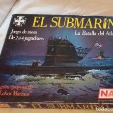 Juegos de mesa: EL SUBMARINO DE NAC. Lote 203622487