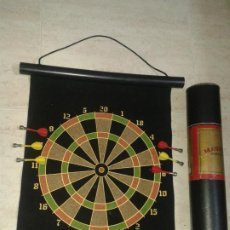 Juegos de mesa: DIANA MAGNÉTICA,6 DARDOS,EN SU EMBASE,PAST TIMES,MAGNETIC DARTS GAME. Lote 205848972
