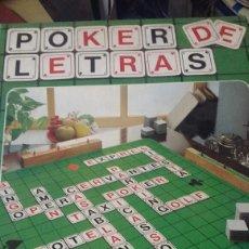 Juegos de mesa: EDUCA. POKER DE LETRAS. JUEGO DE VOCABULARIO. NUEVO PRECINTADO. Lote 205855600