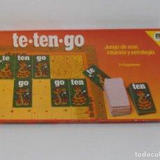 Juegos de mesa: JUEGO DE MESA, TE-TEN-GO, JUEGO DE AZAR, INTUICION Y ESTRATEGIA, DISET, COMPLETO. Lote 206174051