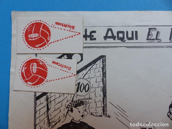 Juegos de mesa: BONITO JUEGO FUTBOL MISIONAL SANTA INFANCIA, CHINITOS CONTRA NEGRITOS, AÑOS 1970-80 - Foto 2 - 206359928