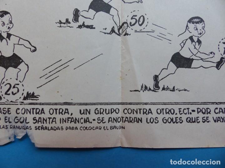 Juegos de mesa: BONITO JUEGO FUTBOL MISIONAL SANTA INFANCIA, CHINITOS CONTRA NEGRITOS, AÑOS 1970-80 - Foto 4 - 206359928