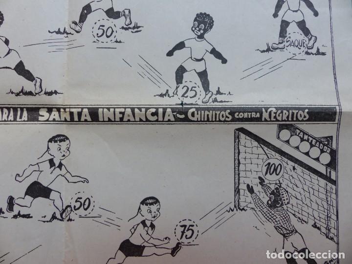 Juegos de mesa: BONITO JUEGO FUTBOL MISIONAL SANTA INFANCIA, CHINITOS CONTRA NEGRITOS, AÑOS 1970-80 - Foto 6 - 206359928
