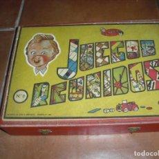 Juegos de mesa: ANTIGUO JUEGOS REUNIDOS GEYPER CAJA DE MADERA. Lote 206420540