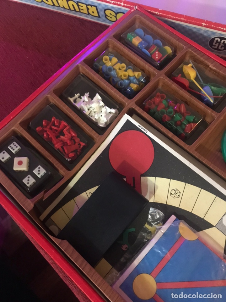 Juegos de mesa: JUEGOS REUNIDOS - GEYPER - Nº 35 - COMPLETO EN PERFECTO ESTADO - Foto 4 - 206582551