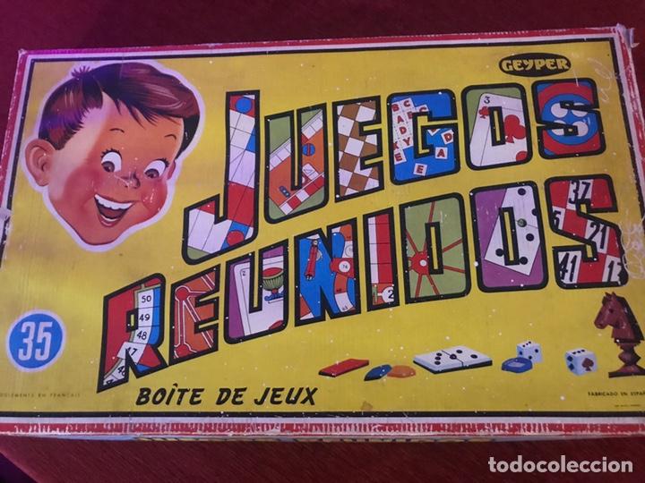 JUEGOS REUNIDOS - GEYPER - Nº 35 - COMPLETO EN PERFECTO ESTADO (Juguetes - Juegos - Juegos de Mesa)