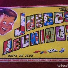 Juegos de mesa: JUEGOS REUNIDOS - GEYPER - Nº 35 - COMPLETO EN PERFECTO ESTADO. Lote 206582551