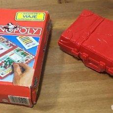 Juegos de mesa: MONOPOLY DE VIAJE - PARKER. Lote 206765900