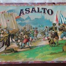 Jogos de mesa: ANTIGUO JUEGO ASALTO,BORRAS,AÑOS 30. Lote 206905813