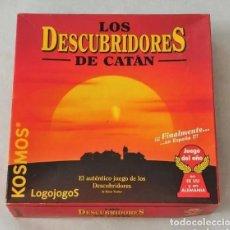 Juegos de mesa: LOS DESCUBRIDORES DE CATAN KOSMOS- LOGOJOGOS. COMPLETO Y NUEVO A ESTRENAR. Lote 207138015