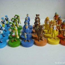 Juegos de mesa: JUEGO DE 24 FIGURAS DE PARCHIS ASTURIANAS NUEVAS. Lote 207141698