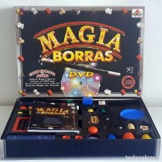 Juegos de mesa: MAGIA BORRAS SHOW DE MAGIA DVD 200 TRUCOS BORRAS. Lote 207263011