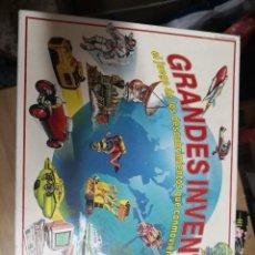 Juegos de mesa: GRANDES INVENTOS EDUCA EL JUEGO DE LOS DESCUBRIDORES QUE CONMOVIERON AL MUNDO.. Lote 207409508