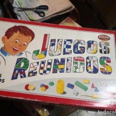 Juegos de mesa: JUEGOS REUNIDOS BIZAK 35. GEYPER JOGOS REUNIDOS COMPLETO. Lote 207411332