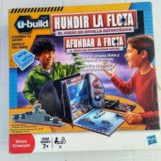 Juegos de mesa: HUNDIR LA FLOTA. HASBRO. Lote 207566700