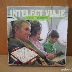 Juegos de mesa: JUEGO DE MESA INTELECT VIAJE DE CEFA. Lote 207681991