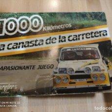 Juegos de mesa: JUEGO DE MESA LA CANASTA DE LA CARRETERA, DE FOURNIER. Lote 208685800