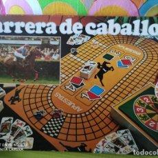 Juegos de mesa: JUEGO DE MESA CARRERA DE CABALLOS DE EDUCA.. Lote 208693460