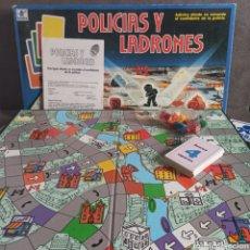 Juegos de mesa: POLICÍAS Y LADRONES DE BORRAS JUEGO DE MESA COMPLETO. Lote 208826940