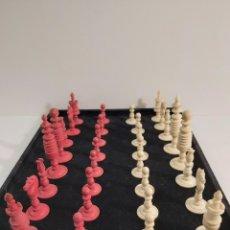 Juegos de mesa: ANTIGUO JUEGO DE AJEDREZ EN MARFIL. Lote 209093606