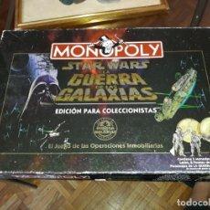 Jogos de mesa: MONOPOLY STAR WARS LA GUERRA DE LAS GALAXIAS: EDICION PARA COLECCIONISTAS. Lote 209320475
