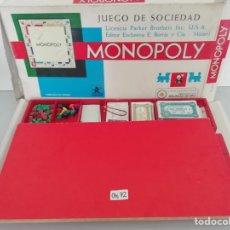 Juegos de mesa: MONOPOLY. Lote 209671550