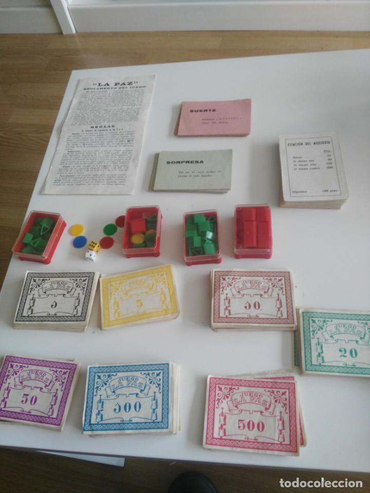 Juegos de mesa: LA PAZ - JUEGO INSTRUCTIVO - AÑOS 60 - SIMILAR MONOPOLY - Foto 2 - 209687798