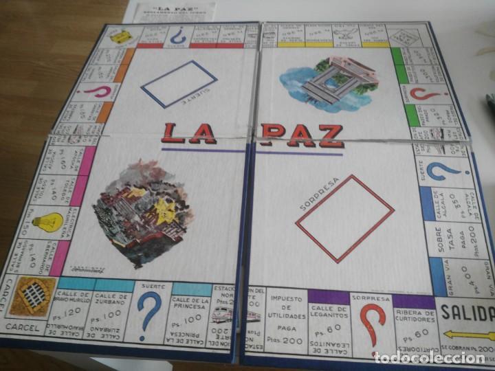 Juegos de mesa: LA PAZ - JUEGO INSTRUCTIVO - AÑOS 60 - SIMILAR MONOPOLY - Foto 3 - 209687798