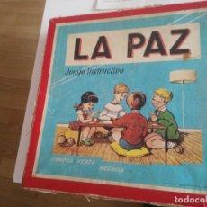 Juegos de mesa: LA PAZ - JUEGO INSTRUCTIVO - AÑOS 60 - SIMILAR MONOPOLY. Lote 209687798