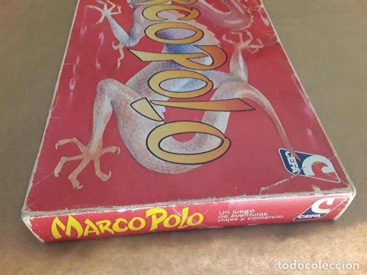 Juegos de mesa: Juego de mesa antiguo cefa Marco polo raro - Foto 2 - 209932800