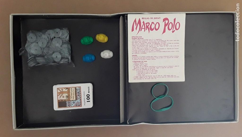 Juegos de mesa: Juego de mesa antiguo cefa Marco polo raro - Foto 5 - 209932800