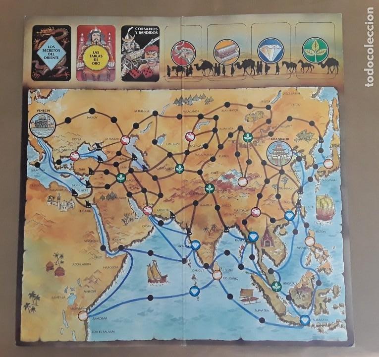 Juegos de mesa: Juego de mesa antiguo cefa Marco polo raro - Foto 8 - 209932800