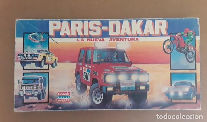 JUEGO DE MESA FALOMIR PARIS DAKAR (Juguetes - Juegos - Juegos de Mesa)