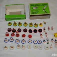 Juegos de mesa: VINTAGE / ORIGINAL - LOTE PIEZAS SUBBUTEO SPORTS GAMES LTD. / AÑOS 60 / 70 ¡MIRA!. Lote 210130365
