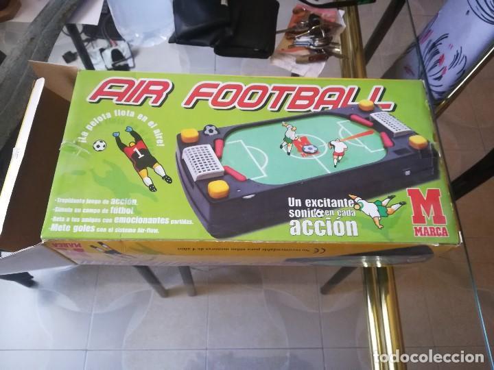 Juegos de mesa: JUEGO AIR FOOTBALL. NUEVO. EDITADO PARA MARCA. PRECINTADO - Foto 2 - 210184820