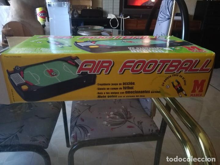 Juegos de mesa: JUEGO AIR FOOTBALL. NUEVO. EDITADO PARA MARCA. PRECINTADO - Foto 3 - 210184820